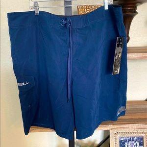 O'Neill Board Short Swim Suit Blue Size 40